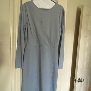 Classic Gianni Bini Blue Crisp Dress
